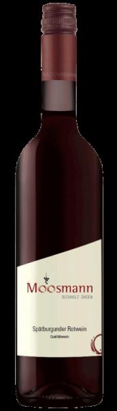 2017 Spätburgunder Rotwein mild