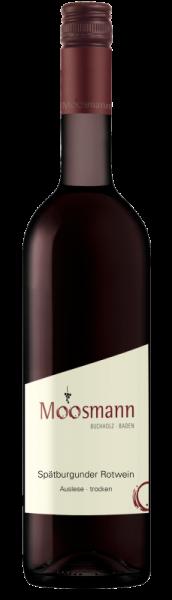 2015 Spätburgunder Rotwein Auslese trocken